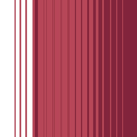 17 Bright Burgundy & White