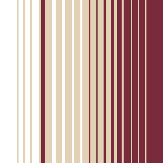 22 Burgundy, Gold & White